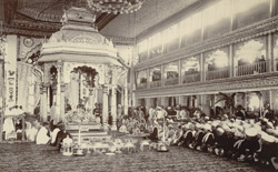 The Navagali or Fifth Day Ceremony of the Marriage [of the Maharaja of Mysore].
